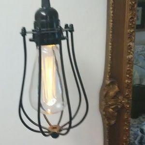 "Hanging ""Edison"" Light"